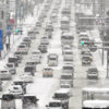 渋滞 運休 交通に 乱れ 岩手県内積雪冷え込み続く