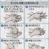 冬の 感染予防 手洗いうがい 習慣化を!
